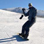 skiing cameraman, ski filming, Andorra