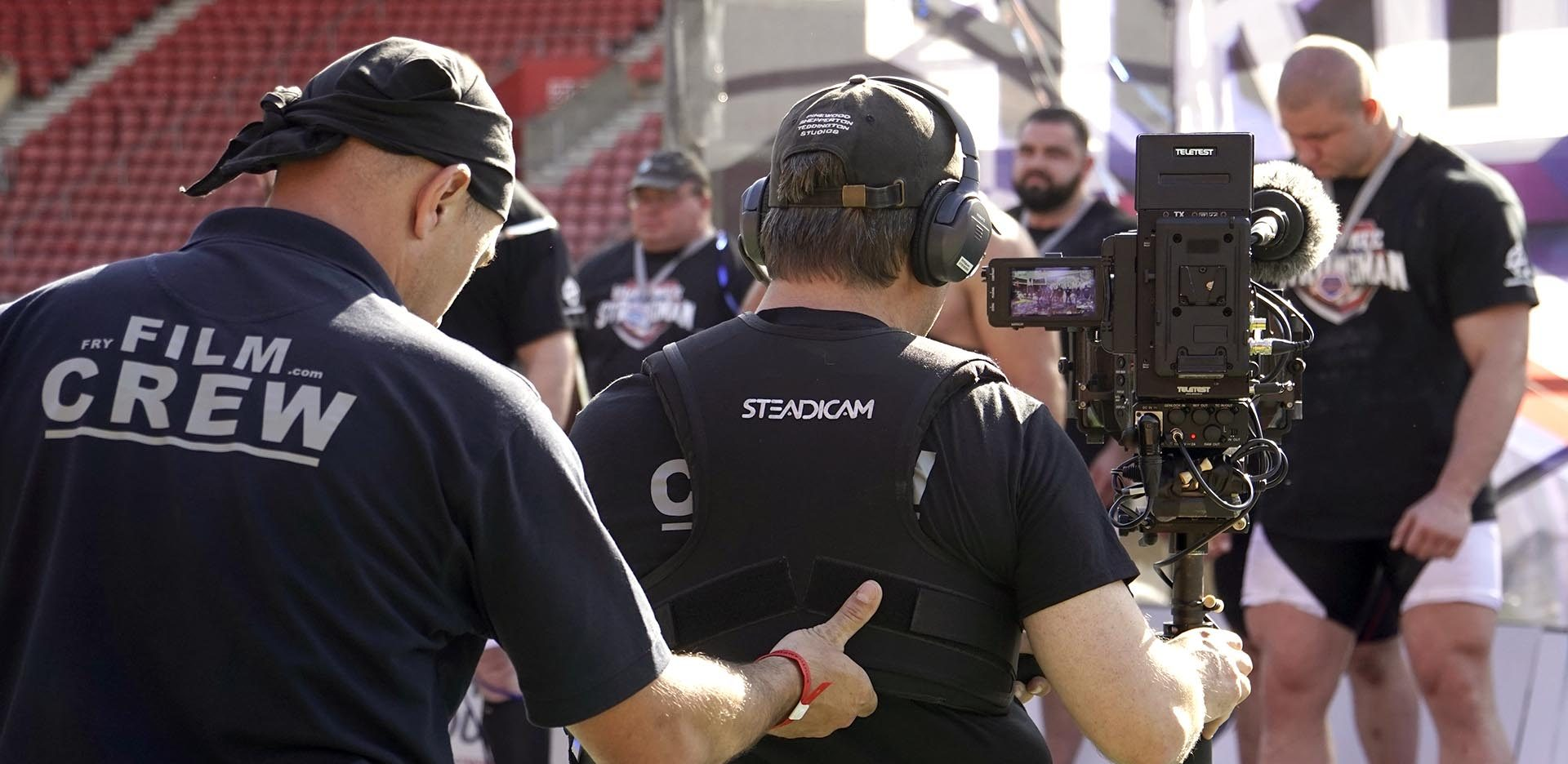 Steadicam Strongman Fryfilm John Fry FS7 Teletest Telesend