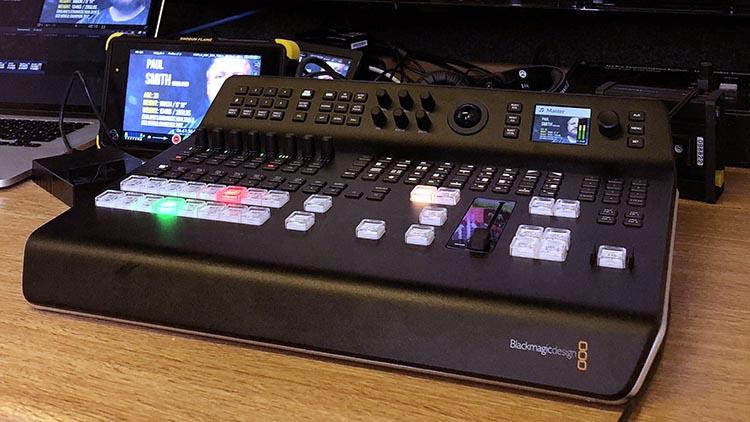 Blackmagic ATEM TVS Pro 4K vision switcher mixer