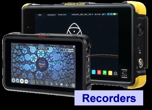 Atomos monitor recorders hire UK