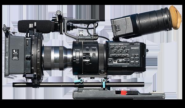 Sony FS700 hire rental hampshire