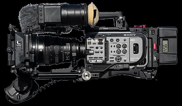 Sony FX9 hire rental hampshire