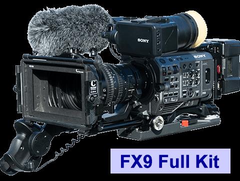 Sony FX9 camera kit hire rental